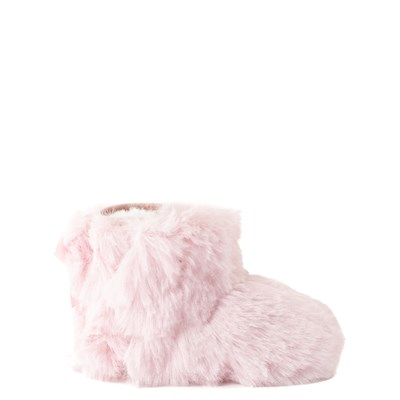 Main view of UGG® Jesse Bow Fluff Boot - Baby / Toddler - Light Pink