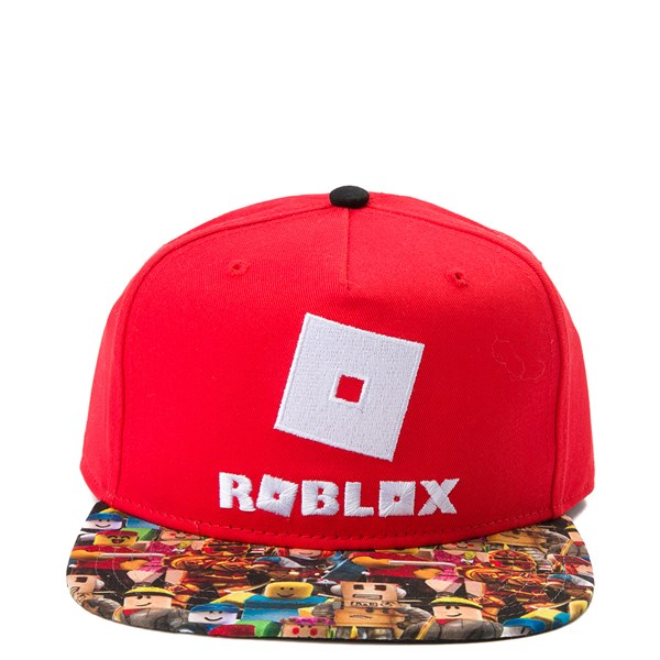 Main view of Roblox Snapback Cap - Red