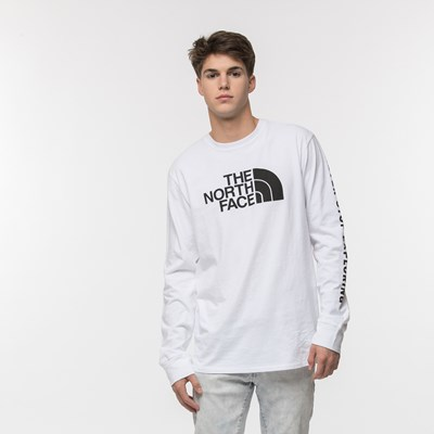 Main view of Mens The North Face Never Stop Exploring Long Sleeve Tee