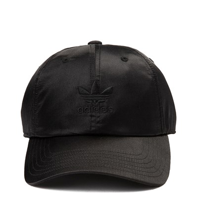 Main view of adidas Trefoil Satin Relaxed Dad Hat