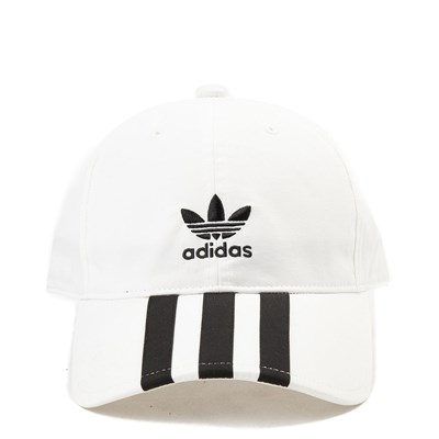 Main view of adidas 3-Stripes Relaxed Dad Hat