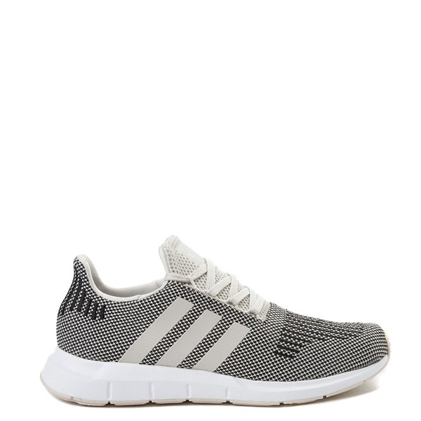 Mens adidas Swift Run Athletic Shoe - Black / Natural