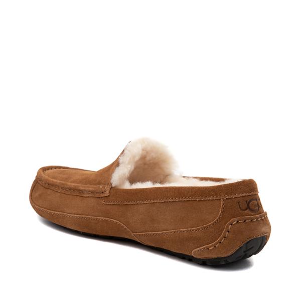 alternate view Mens UGG® Ascot Slip On Casual Shoe - ChestnutALT1