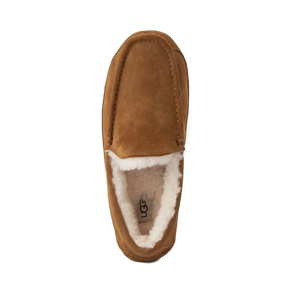 alternate view Mens UGG® Ascot Slip On Casual Shoe - ChestnutALT2
