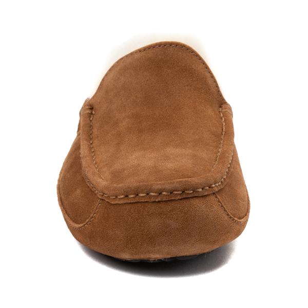 alternate view Mens UGG® Ascot Slip On Casual Shoe - ChestnutALT4
