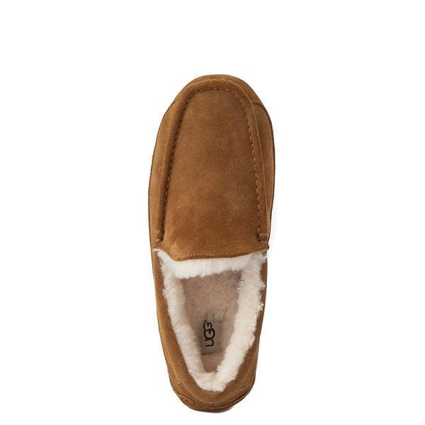 alternate view Mens UGG® Ascot Slip On Casual Shoe - ChestnutALT4B