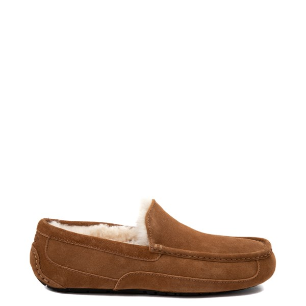 Mens UGG® Ascot Slip On Casual Shoe - Chestnut