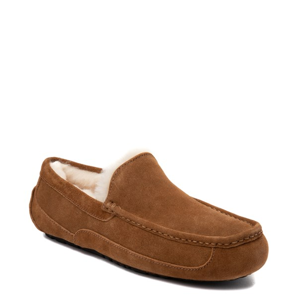 alternate view Mens UGG® Ascot Slip On Casual Shoe - ChestnutALT1