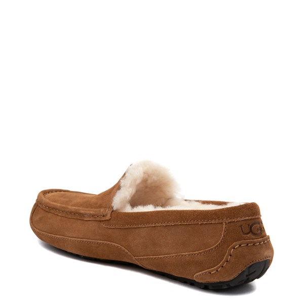 alternate view Mens UGG® Ascot Slip On Casual Shoe - ChestnutALT2