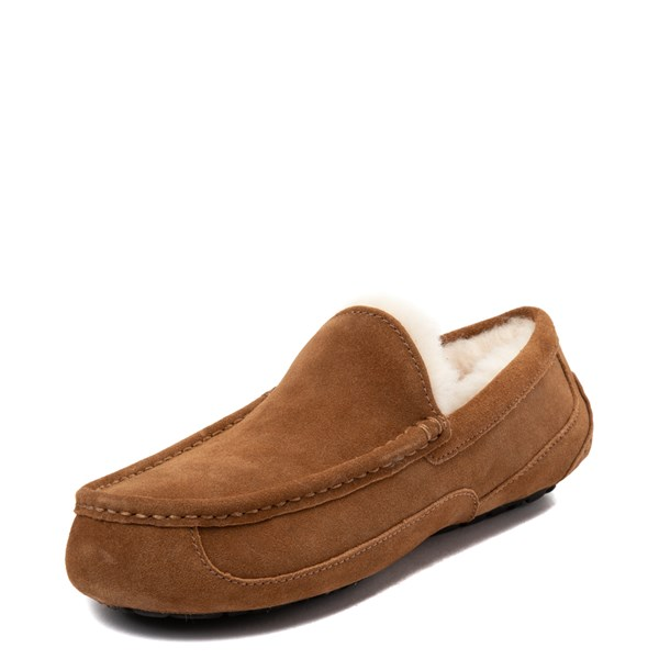 alternate view Mens UGG® Ascot Slip On Casual Shoe - ChestnutALT3