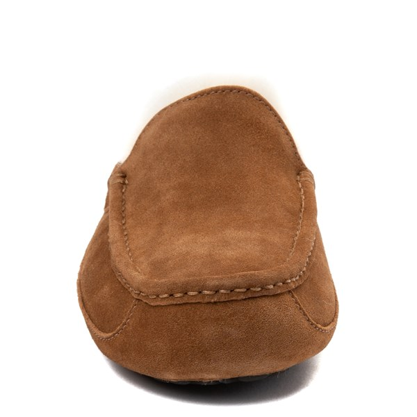 alternate view Mens UGG® Ascot Slip On Casual Shoe - ChestnutALT4