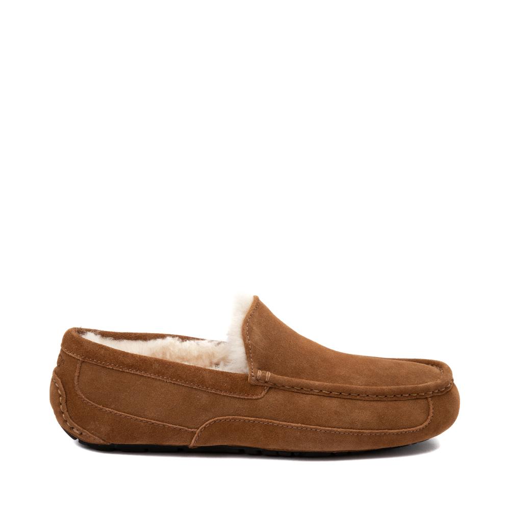 Mens UGG® Ascot Slip On Casual Shoe - Chestnut