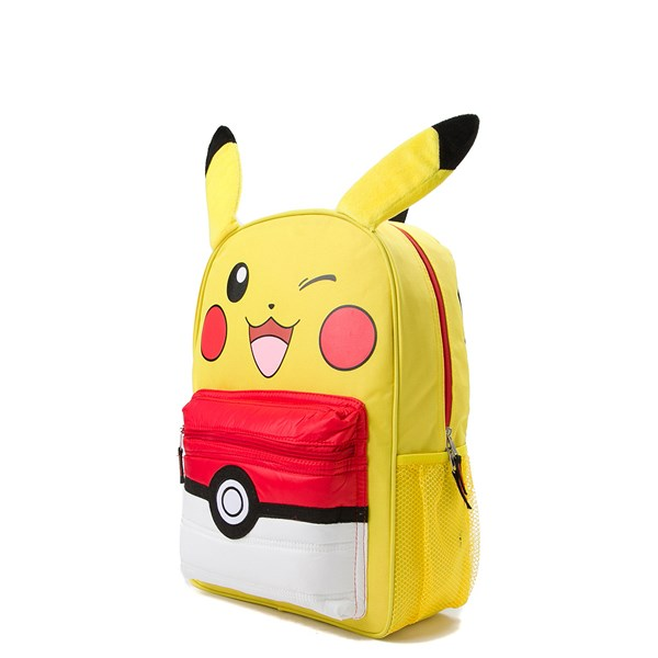 alternate view Pokemon Pikachu Pokeball BackpackALT2