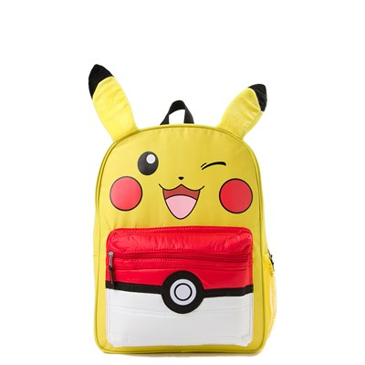Main view of Pokemon Pikachu Pokeball Backpack