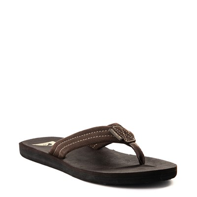 Alternate view of Mens Quiksilver Carver Sandal - Brown