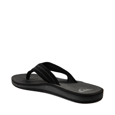 Alternate view of Mens Quiksilver Carver Sandal - Black