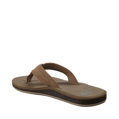 Alternate view of Mens Quiksilver Carver Sandal - Tan
