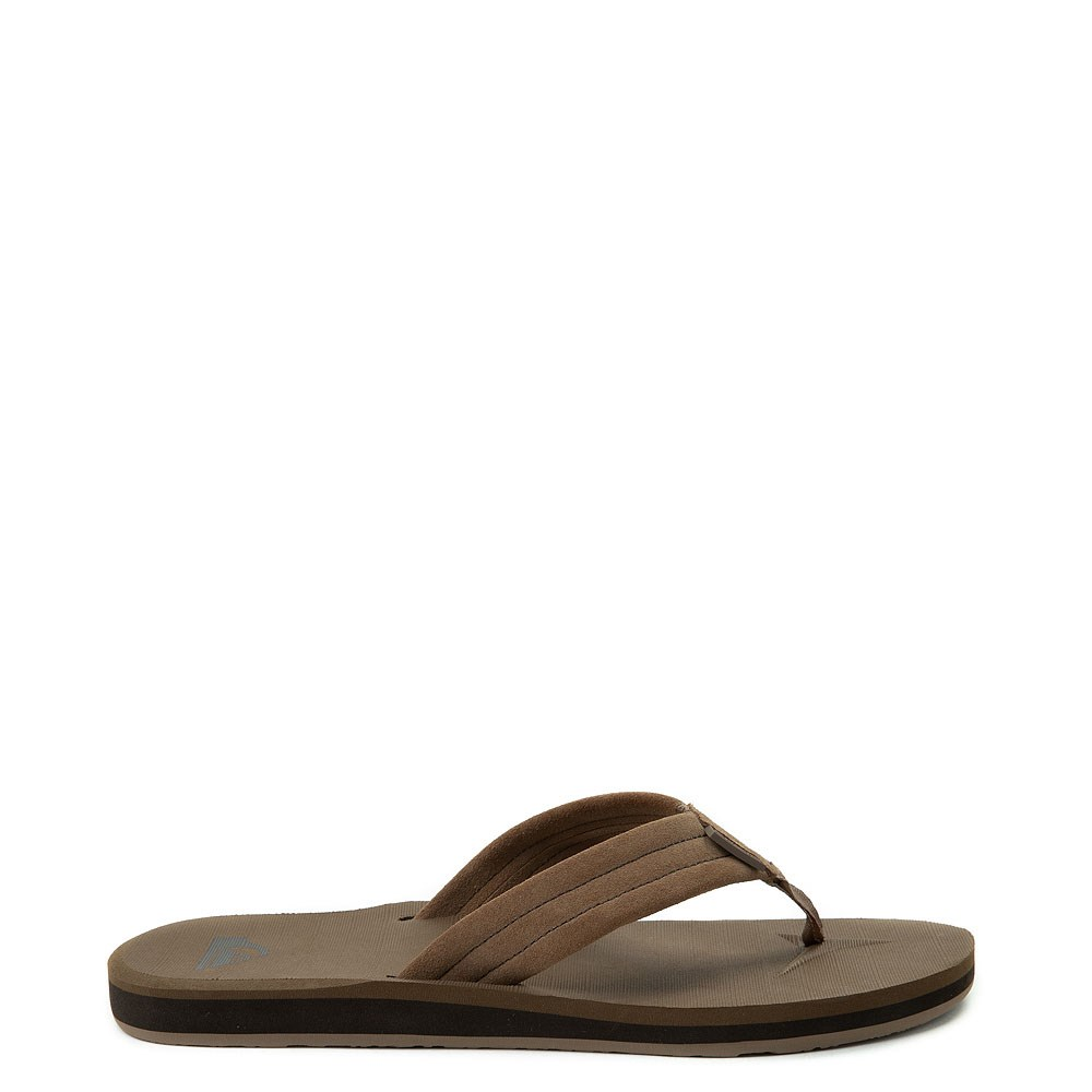 Mens Quiksilver Carver Sandal - Tan