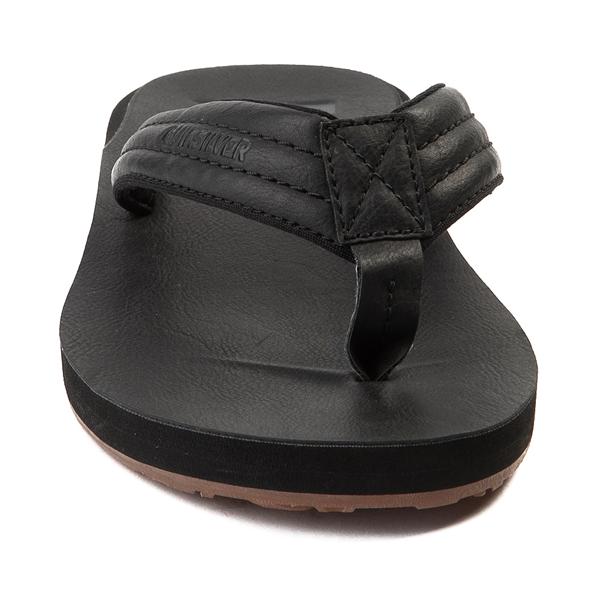 alternate view Mens Quiksilver Carver Sandal - BlackALT4