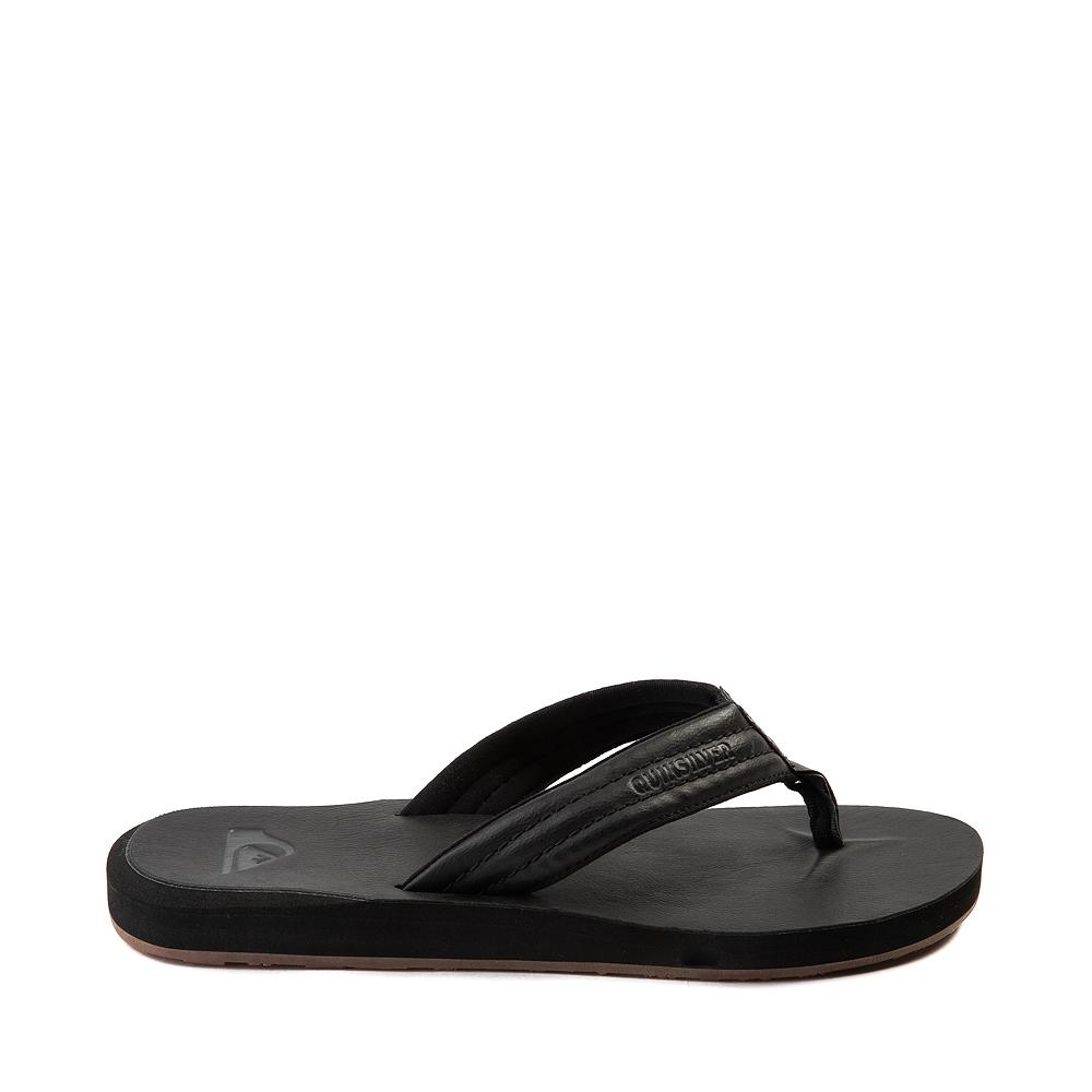 Mens Quiksilver Carver Sandal - Black