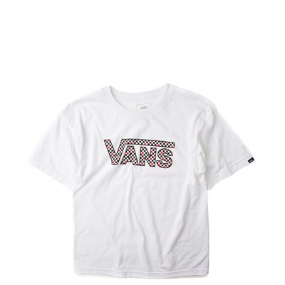 Main view of Vans Checkerboard Tee - Little Kid
