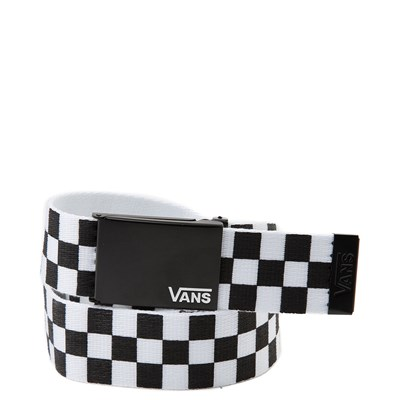 Main view of Vans Checkered Web Belt - Black / White