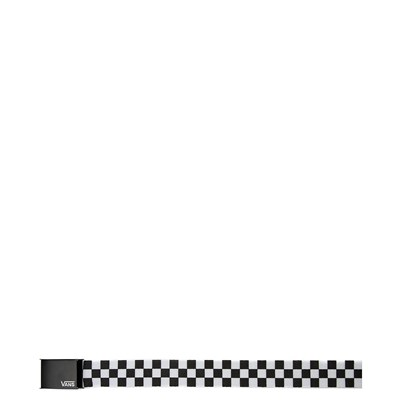 Alternate view of Vans Checkered Web Belt - Black / White