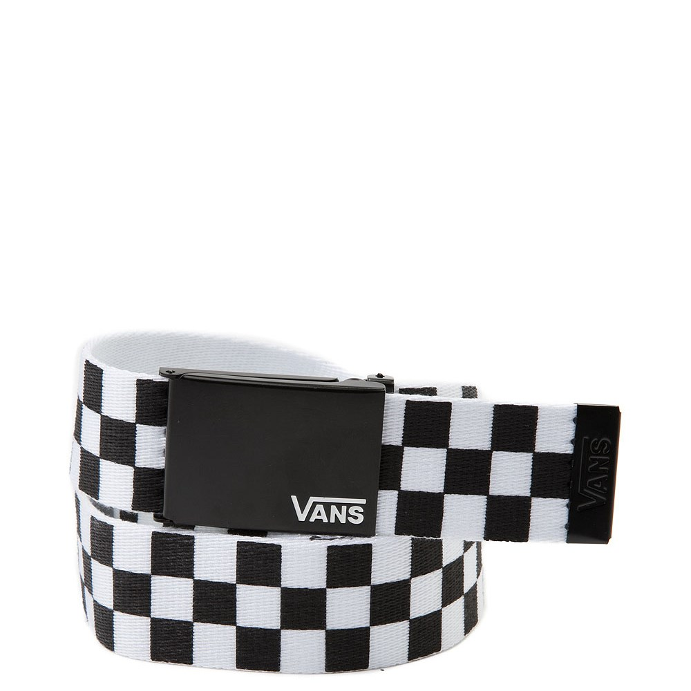 Vans Checkered Web Belt - Black / White