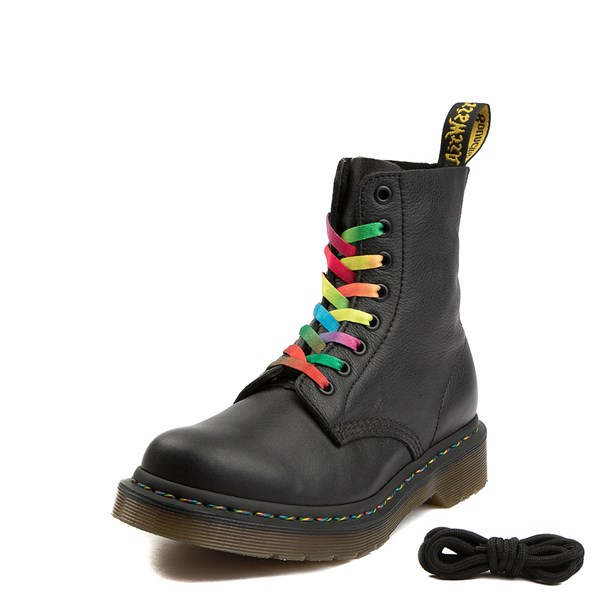 Alternate view of Womens Dr. Martens Pascal Multicolor Stitch 8-Eye Boot