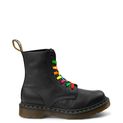 Main view of Womens Dr. Martens Pascal Multicolor Stitch 8-Eye Boot