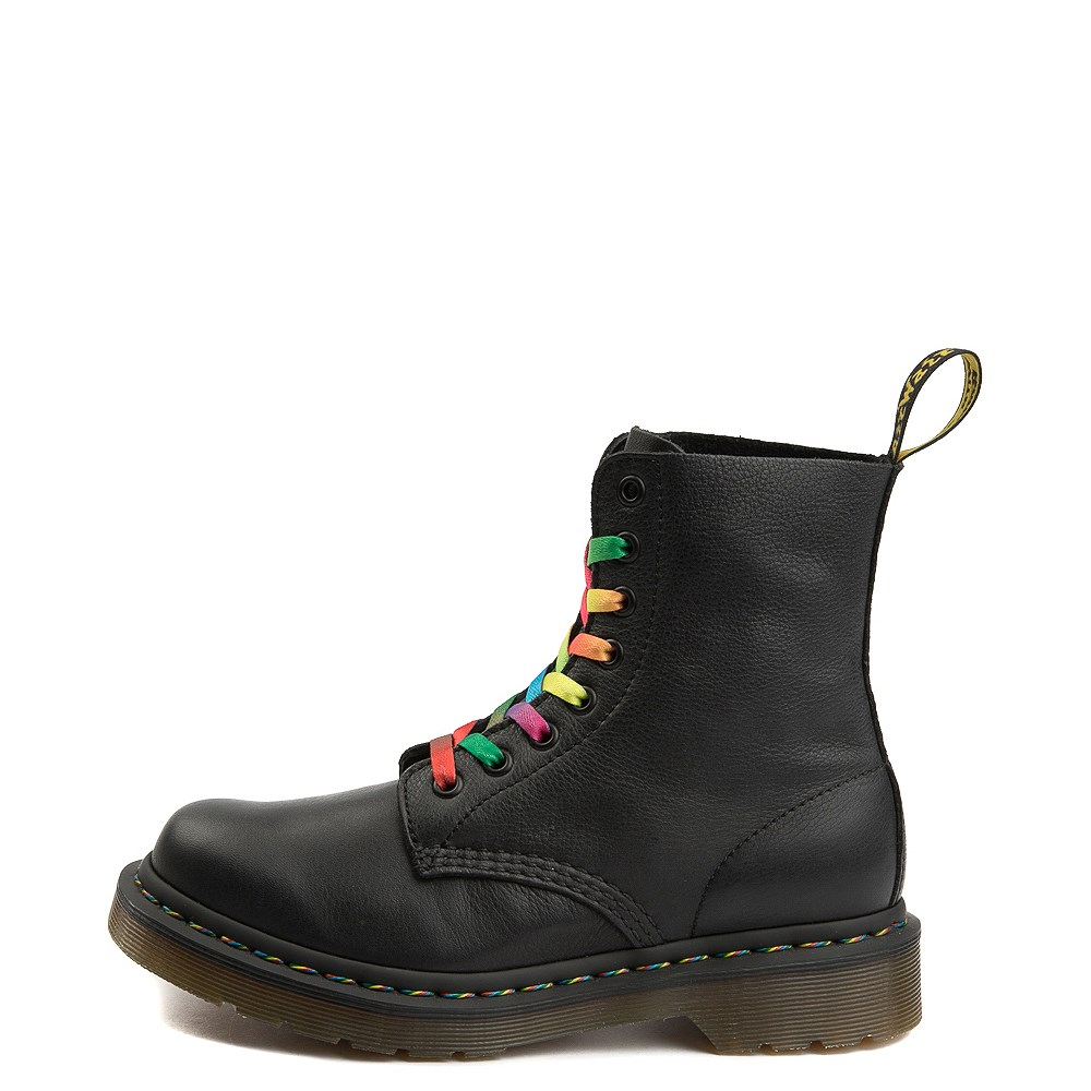 Womens Dr. Martens Pascal Multicolor Stitch 8-Eye Boot