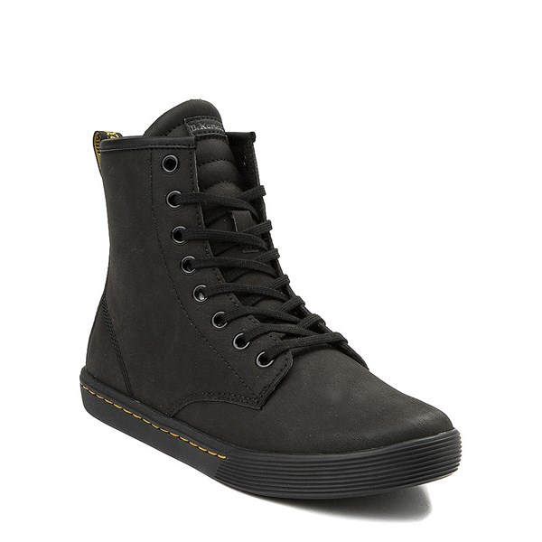 alternate view Womens Dr. Martens Sheridan 8-Eye Boot - BlackALT1