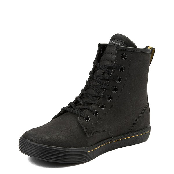 alternate view Womens Dr. Martens Sheridan 8-Eye Boot - BlackALT3