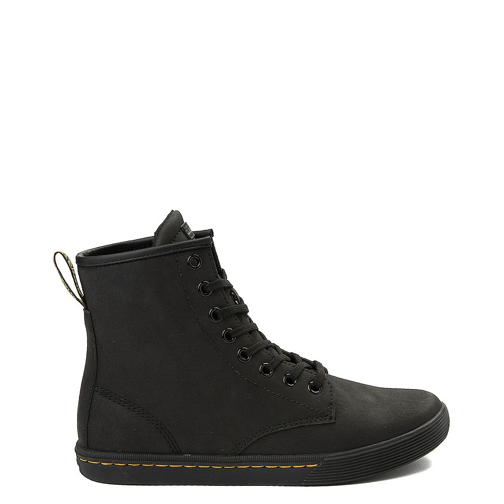 Womens Dr. Martens Sheridan 8-Eye Boot - Black