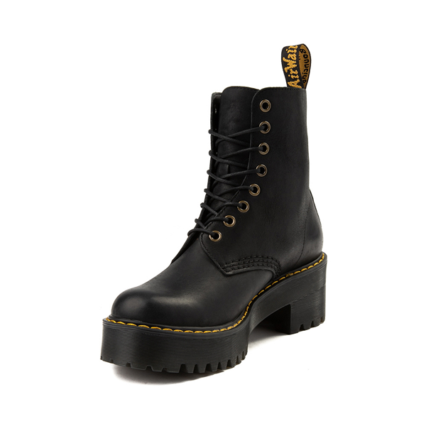 alternate view Womens Dr. Martens Shriver Hi 8-Eye Platform Boot - BlackALT2