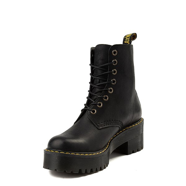 alternate view Womens Dr. Martens Shriver Hi 8-Eye Platform Boot - BlackALT3
