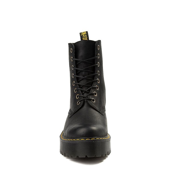 alternate view Womens Dr. Martens Shriver Hi 8-Eye Platform Boot - BlackALT4