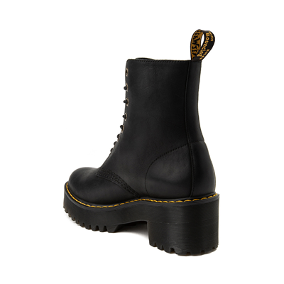 Alternate view of Womens Dr. Martens Shriver Hi 8-Eye Platform Boot - Black