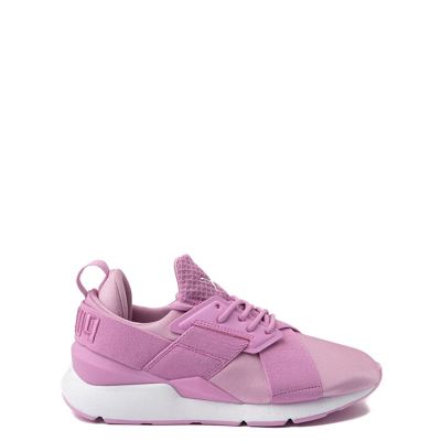 Main view of Tween Puma Muse Satin Athletic Shoe