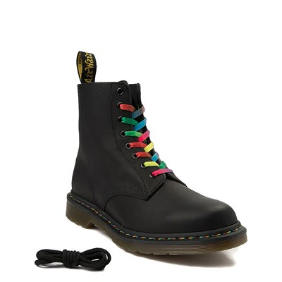 Alternate view of Mens Dr. Martens 1460 Multicolor Stitch 8-Eye Boot