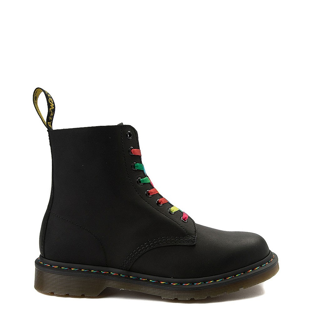 Mens Dr. Martens 1460 Multicolor Stitch 8-Eye Boot
