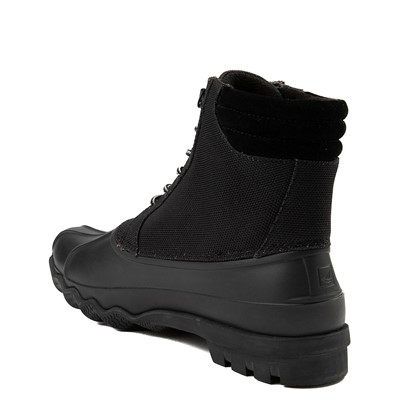 Alternate view of Mens Sperry Top-Sider Avenue Heavy Nylon Duck Boot - Black