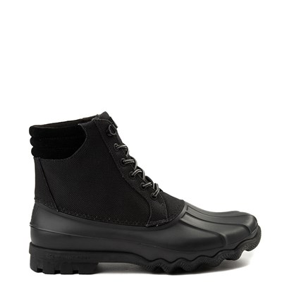 Main view of Mens Sperry Top-Sider Avenue Heavy Nylon Duck Boot - Black
