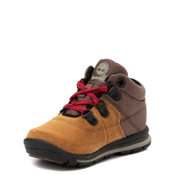 alternate view Timberland GT Rally Hiker Boot - Toddler / Little Kid - BrownALT3
