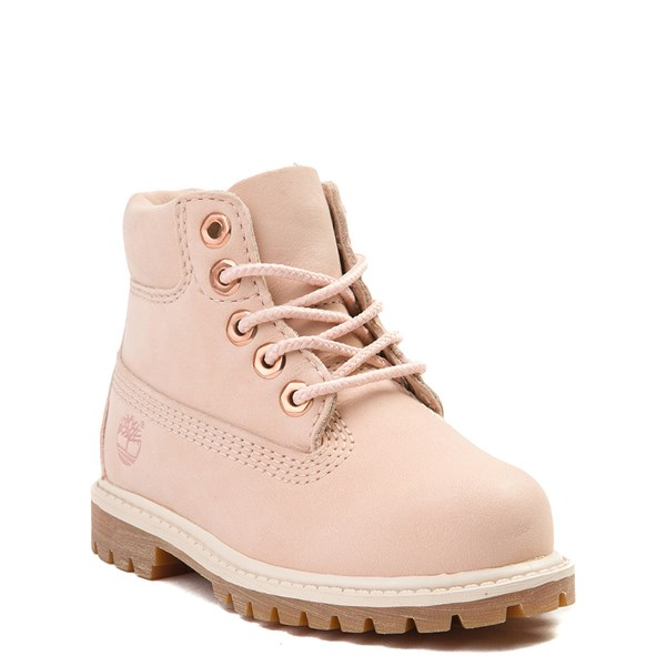 "alternate view Timberland 6"" Classic Boot - Toddler / Little Kid - Light PinkALT1"