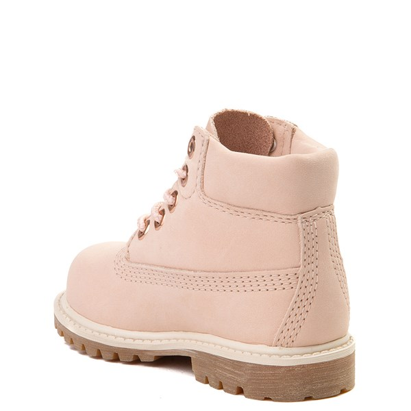 "alternate view Timberland 6"" Classic Boot - Toddler / Little Kid - Light PinkALT2"