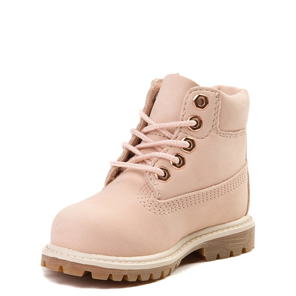 "alternate view Timberland 6"" Classic Boot - Toddler / Little Kid - Light PinkALT3"