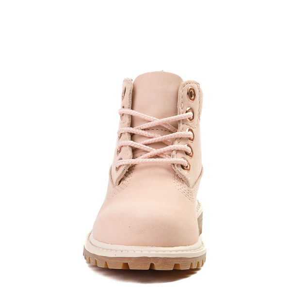 "alternate view Timberland 6"" Classic Boot - Toddler / Little Kid - Light PinkALT4"
