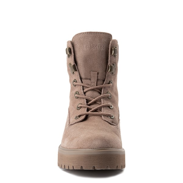 alternate view Womens Timberland Carnaby Cool Boot - TaupeALT4