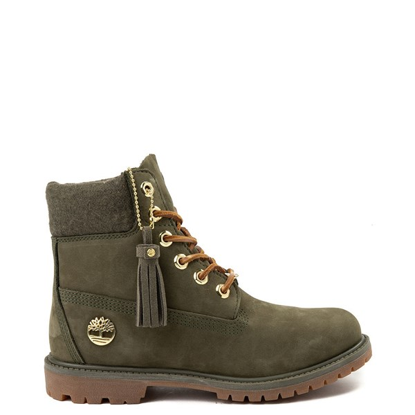 "Womens Timberland 6"" Premium Wool Collar Boot"